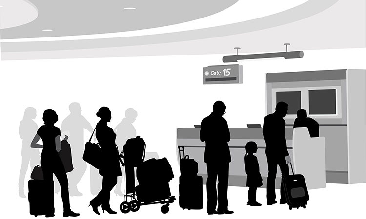 Check-In Transaction, Transferring and Guidance of Disabled Passengers (ENG)